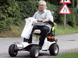 Mobility scooter drink driver fined