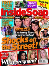 Shocks on the Street! Carla returns to destroy Tony and Maria's happiness on their wedding day!