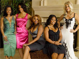 'Housewives' argue on Ellen chatshow