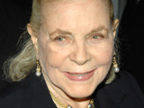 Lauren Bacall receives honorary Oscar