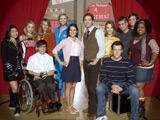 'Glee's Murphy fends off Menzel rumors