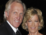 Chris Evert, Greg Norman split