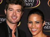 Thicke, Patton to become parents?