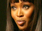Naomi Campbell 'didn't think about fame'