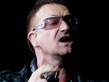 Bono, Keys for 'Hope for Haiti' event