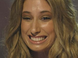 Stacey Solomon 'fits in with the boys'