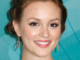 Leighton Meester 'advised by Lauper'