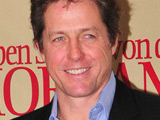 Hugh Grant makes resolution 'not to smile'