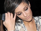 Frankie Sandford 'mistaken for Beckham'