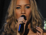 Man detained over Leona Lewis assault