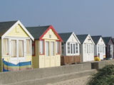 Beach hut queue braves overnight freeze