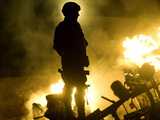 'The Hurt Locker' triumphs at Oscars