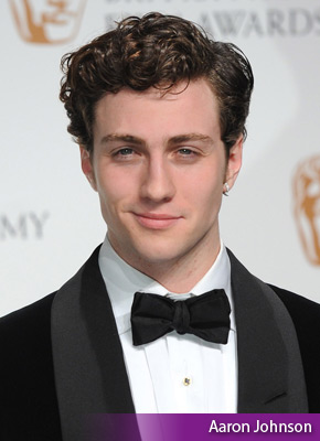 is aaron johnson gay