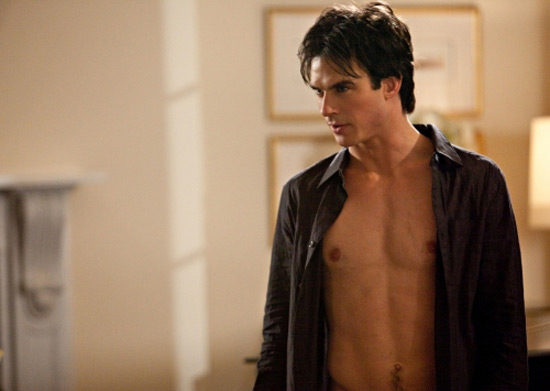 These very-almost-shirtless shots of Ian Somerhalder are taken from ...