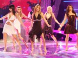 Girls Aloud mock indie bands on new song