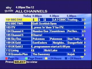 skyguide tv guide all channels rh digitalspy com TV Guide Channel Listings TV Guide Network
