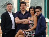 The Connors descend on 'Coronation Street'